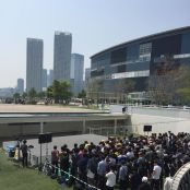 LaLaport Toyosu is a very popular venue for idol events.